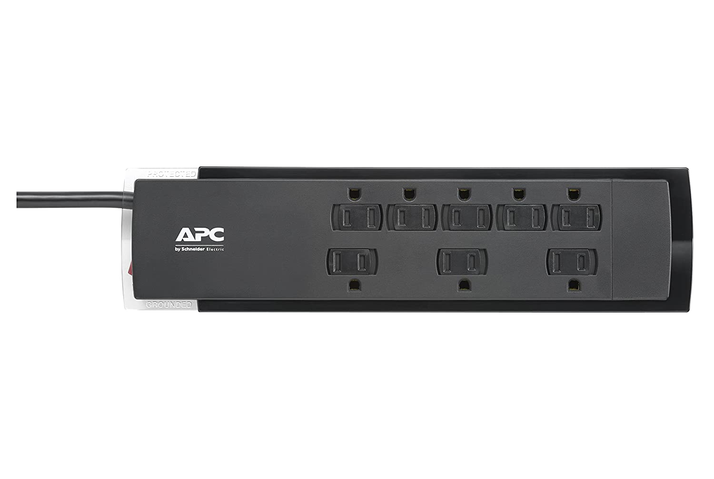 SurgeArrest P8U2 APC 8-Oultet Surge Protector 2630 Joules with USB Charger Ports
