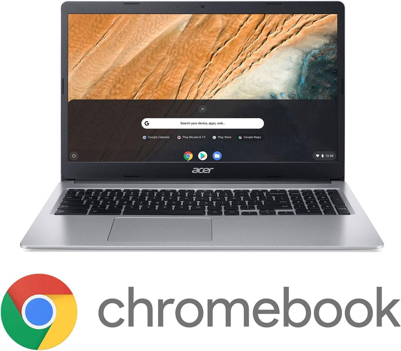 "Acer Chromebook 315, Intel Celeron N4000, 15.6"" HD Display, 4GB LPDDR4, 64GB eMMC, Gigabit WiFi, Google Chrome, CB315-3H-C4QE"