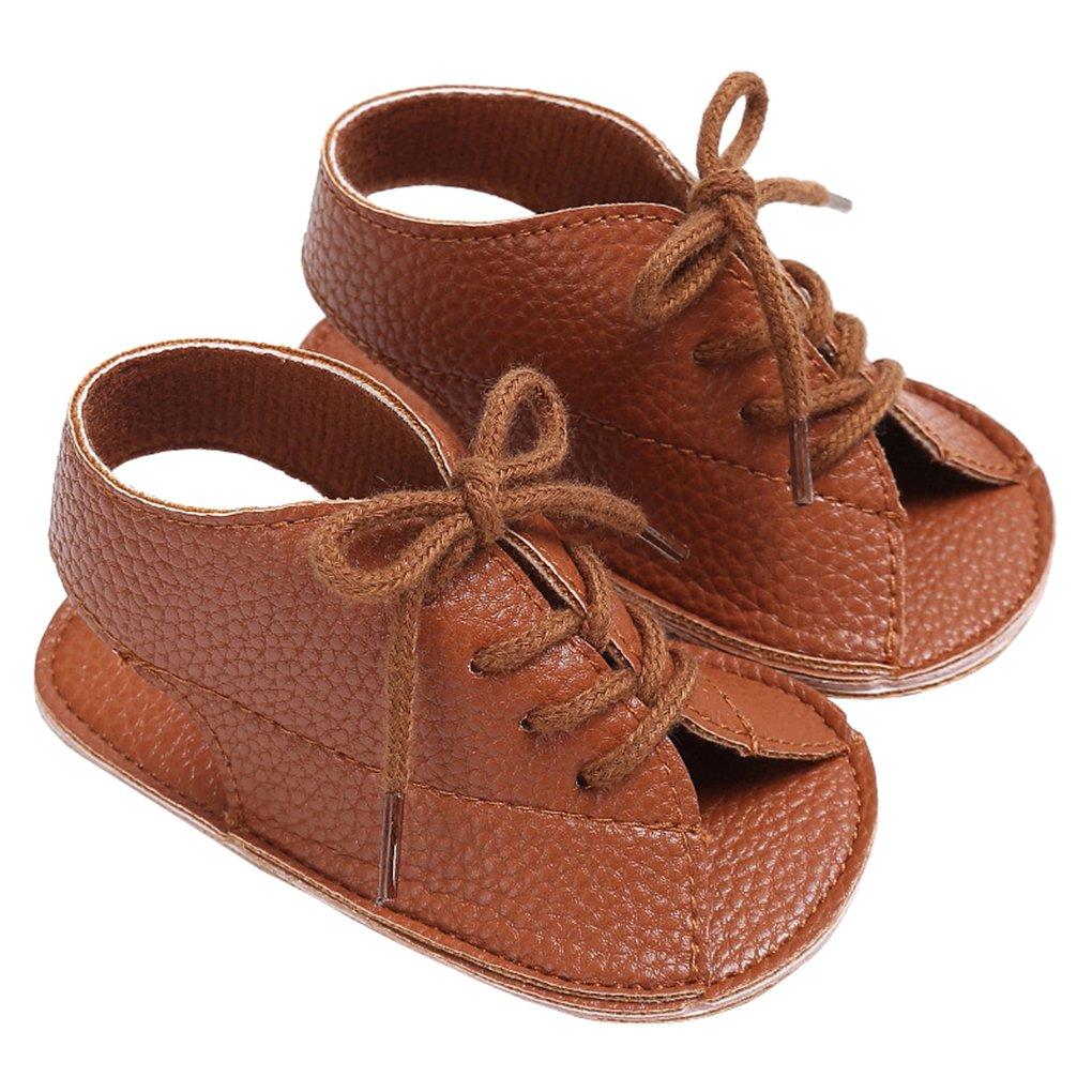 lakiolins ベビーガールズ B07BQDFMWY 3M US Infant/11cm ブラウン ブラウン 3M US Infant/11cm