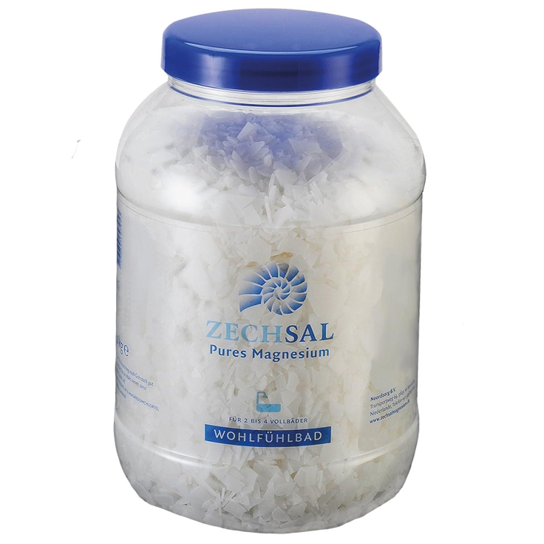 Zechsal Magnesium Body Bath (2 kg) [Zechstein sea] Pure Magnesiumflakes
