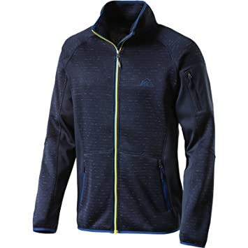 McKINLEY Herren Freizeit Outdoor Wander Stickfleece Jacke