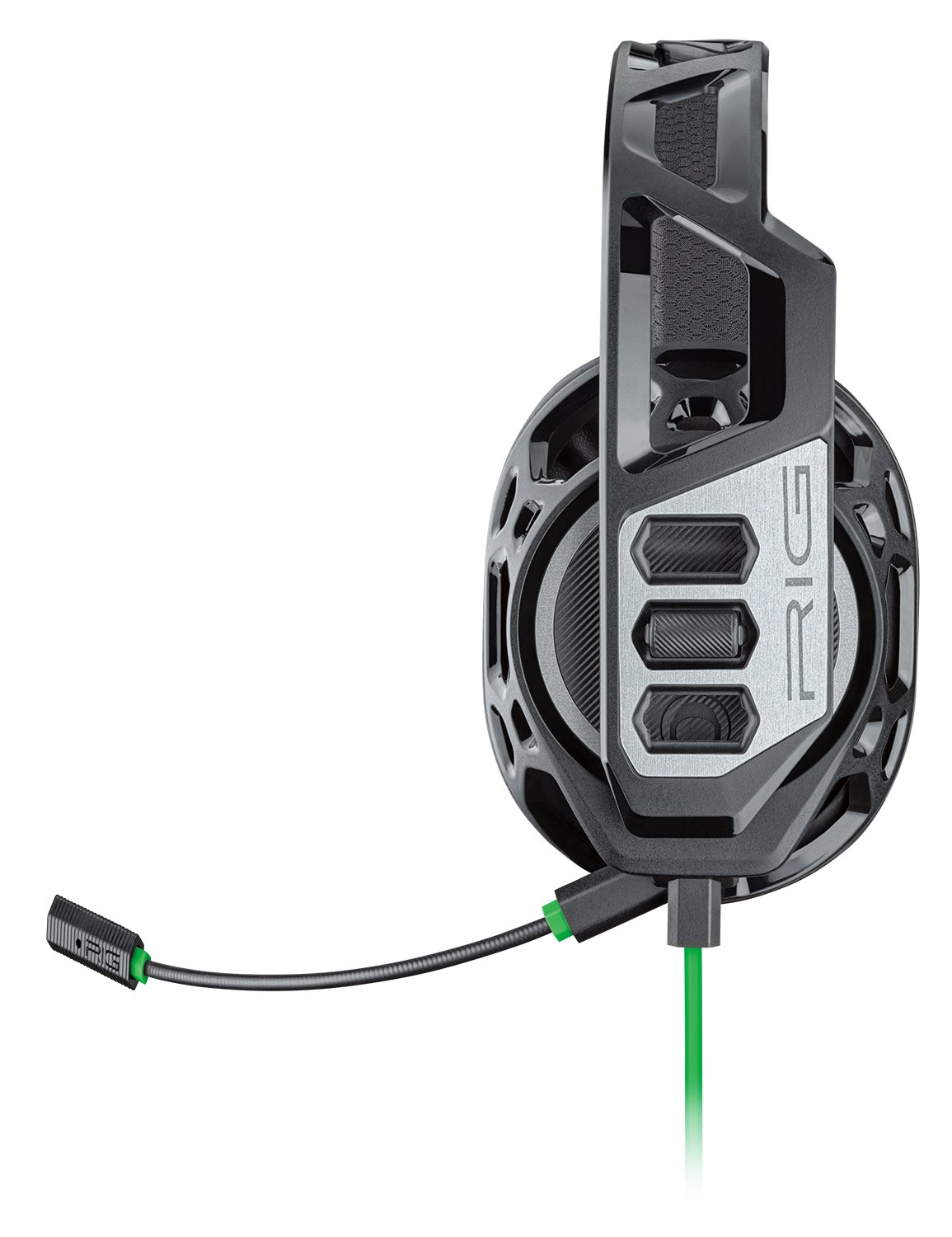 Amazon.com: Plantronics Gaming Headset, RIG 100HX Gaming Headset for Xbox One with Open Ear Full Range Chat: Computers & Accessories