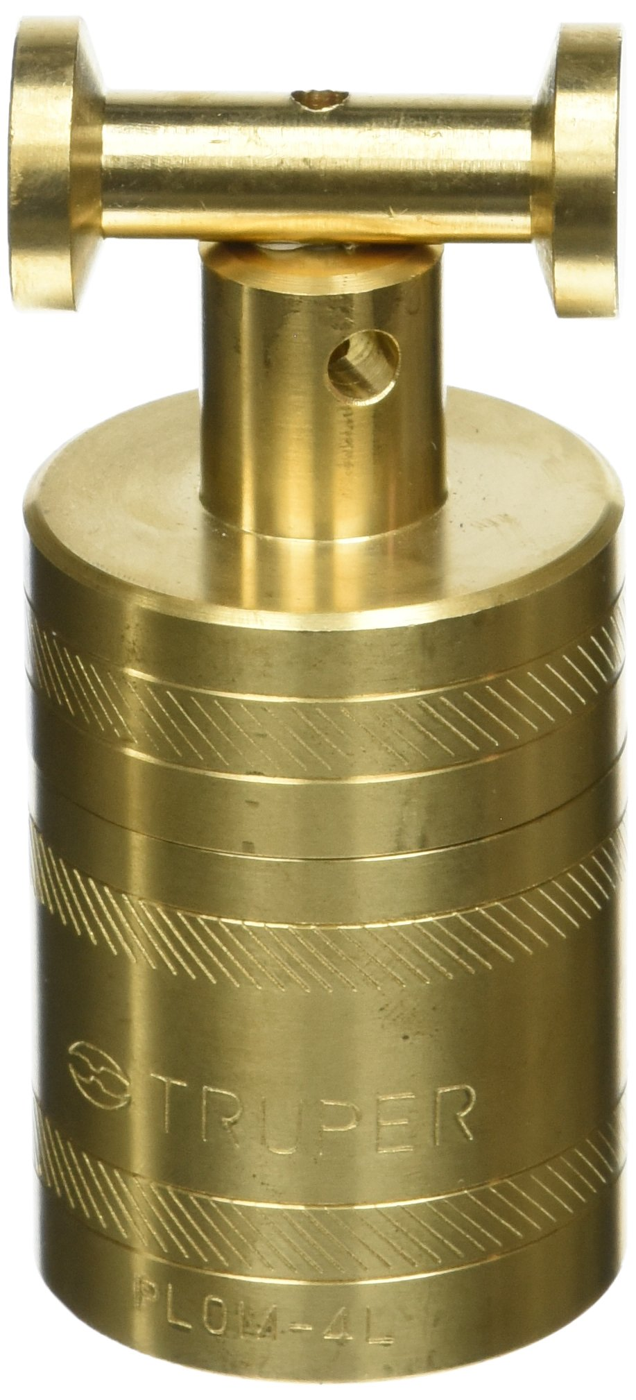 TRUPER PLOM-4L Brass Plumb Bobs w/ Center 21 Oz (582 g)
