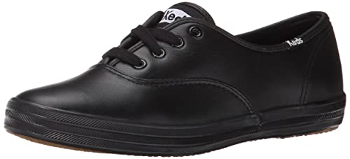 febaab37bc5 Image Unavailable. Image not available for. Colour  Keds Champion Oxford  CVO Womens Black Narrow Walking Shoes ...