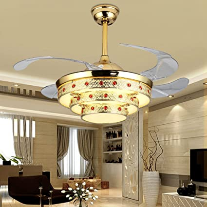 Huston Ventilador 42 inch oro decorativo ventilador de techo ...