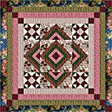 Easy Quilt Kit Romantic Rose Medallion/EXPEDITED SHIPPING-King Size