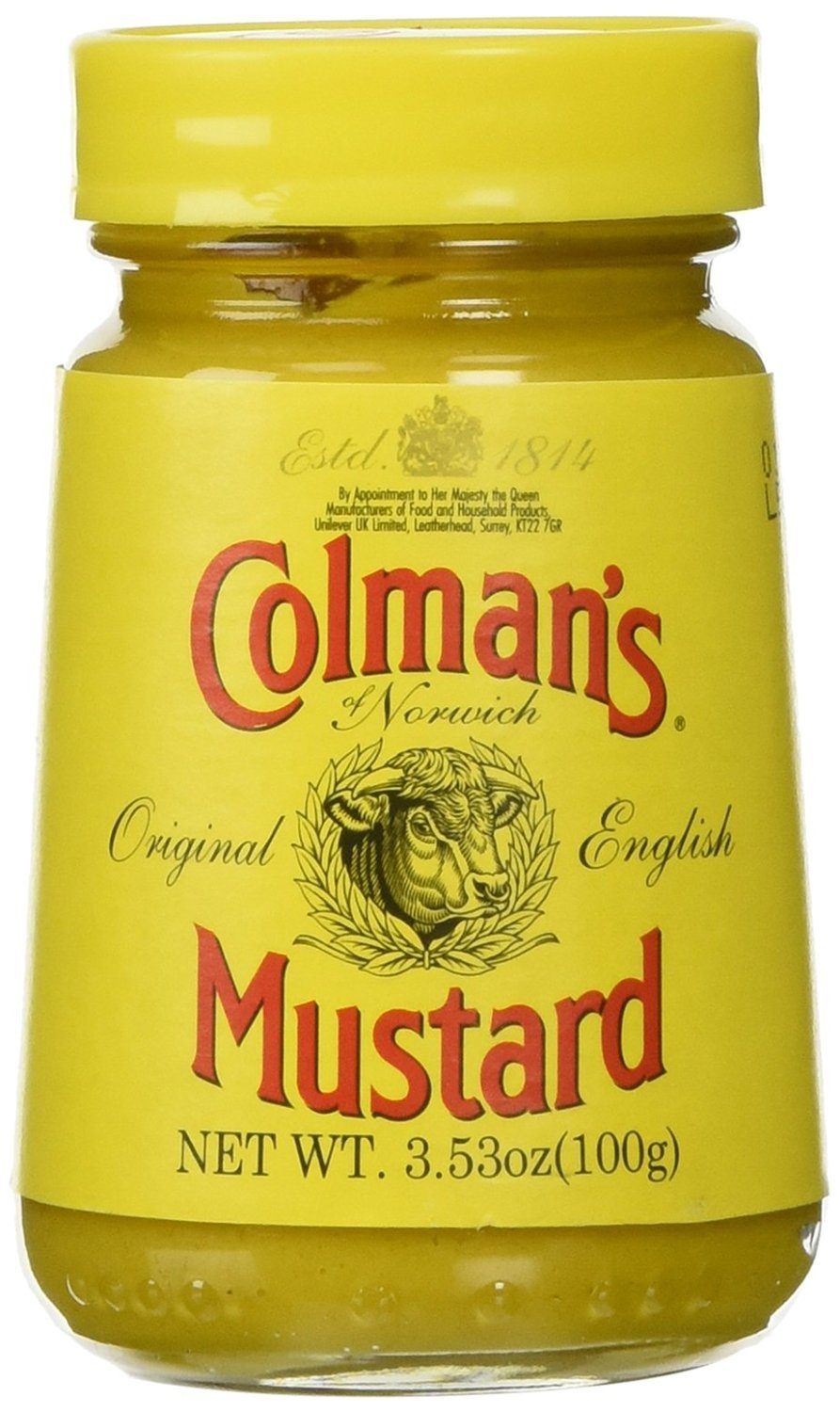 COLMANS Original English Mustard, 3.53 Ounce