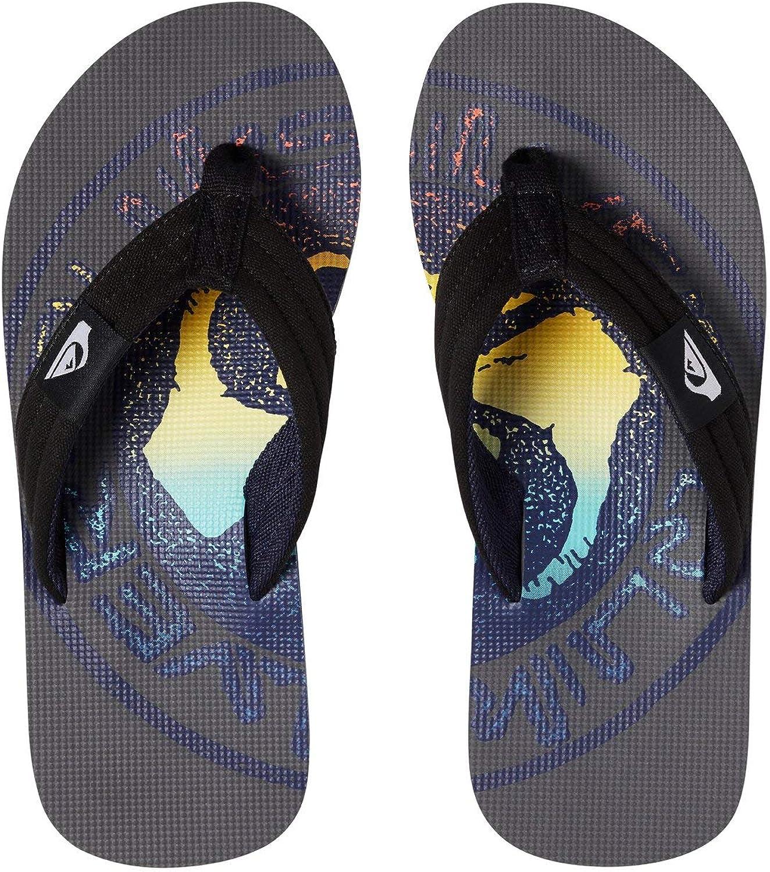 Quiksilver Molokai Layback Zapatos de Playa y Piscina para Ni/ños