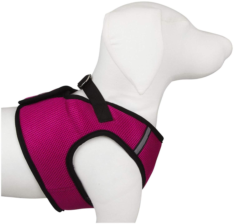 The Worthy Dog 3387 Sidekick Harness, XX-Large, Pink