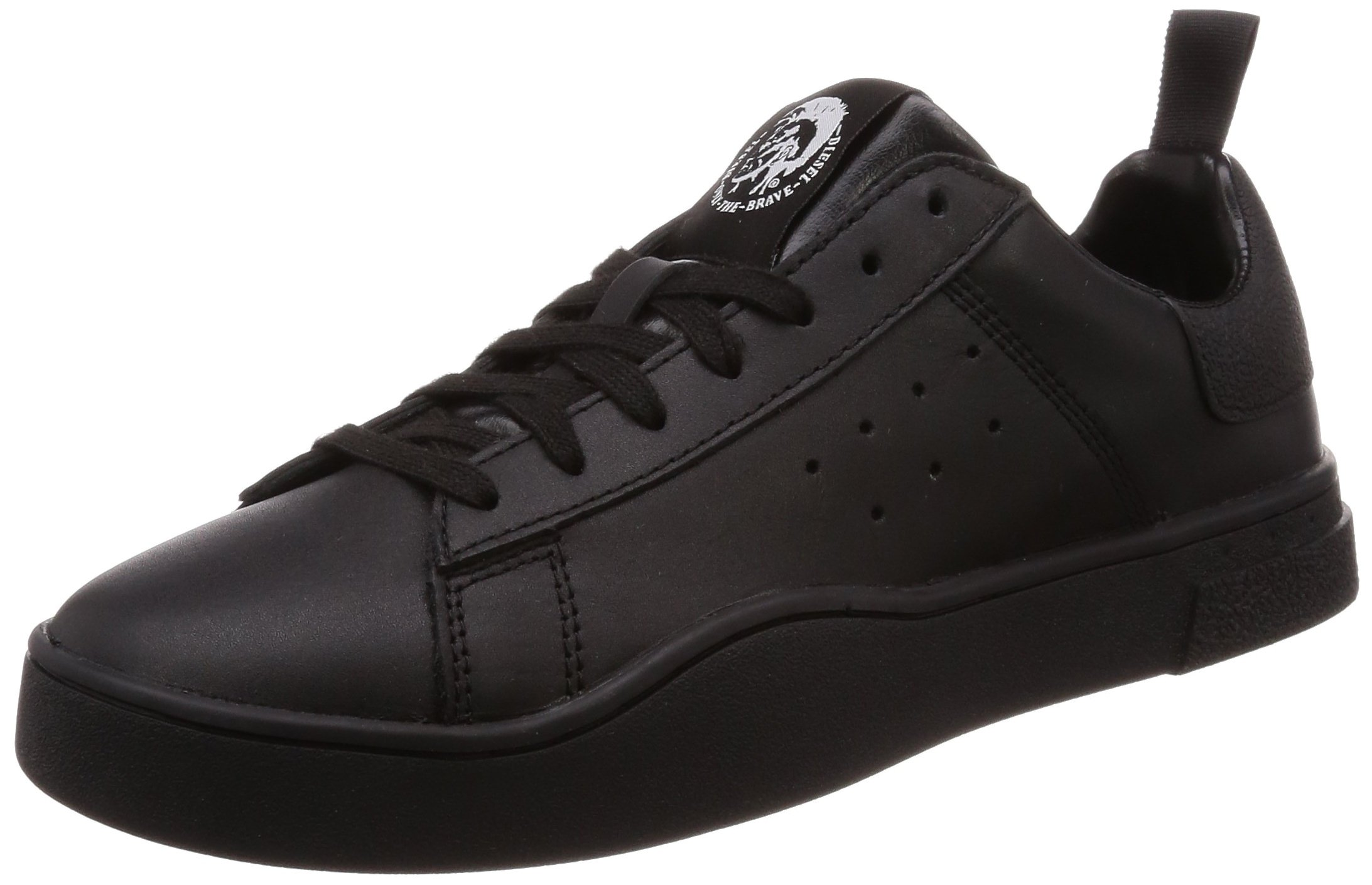 Diesel Men's S-Clever Low-Sneakers Black, 8 M US