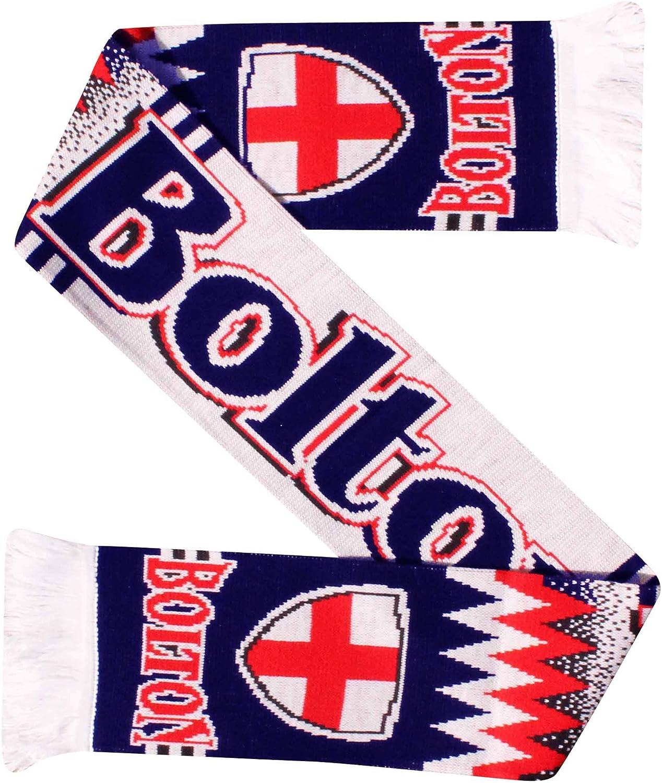 Bolton Wanderers Football Fans Scarf 100/% Acrylic