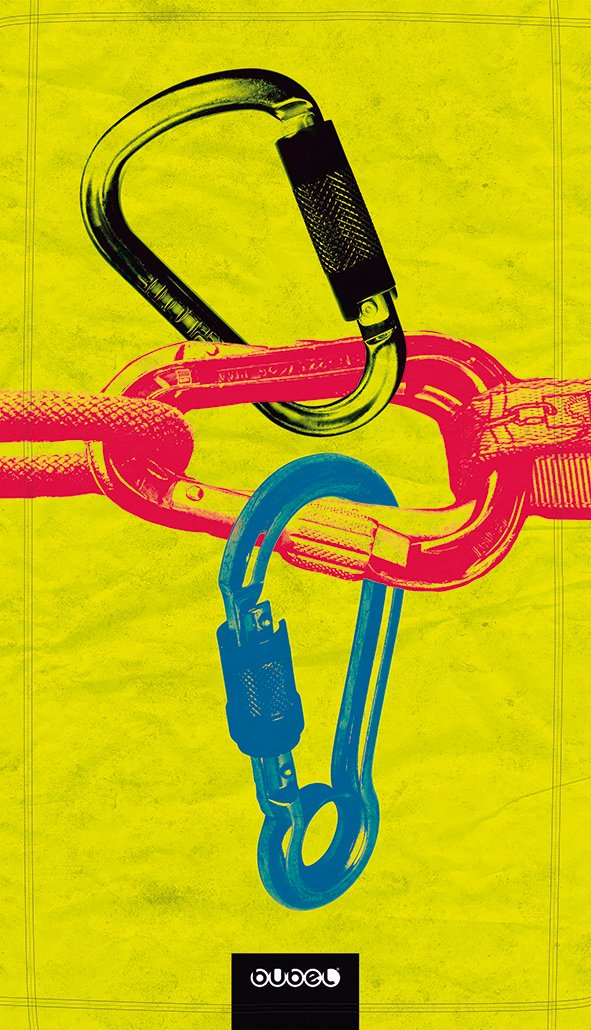 Bubel Carabiners Toalla Técnica, Microfibra, Multicolor, 95 x 54 cm: Amazon.es: Hogar