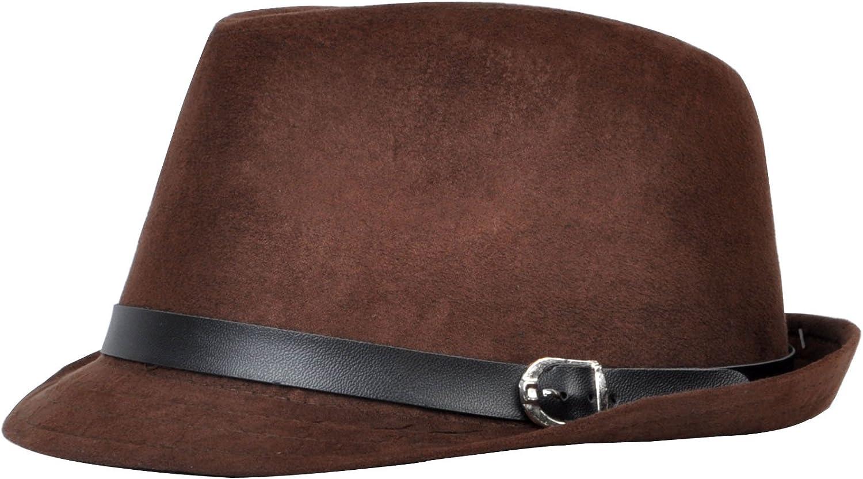 Mens All Season Fashion Wear Fedora Hat