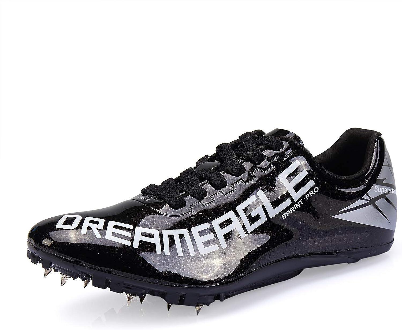 TauLene Women Men Sprint Track Shoes