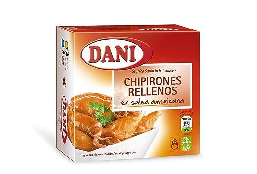 Dani - Chipirones rellenos - en salsa americana - 148 g - [Pack de 3