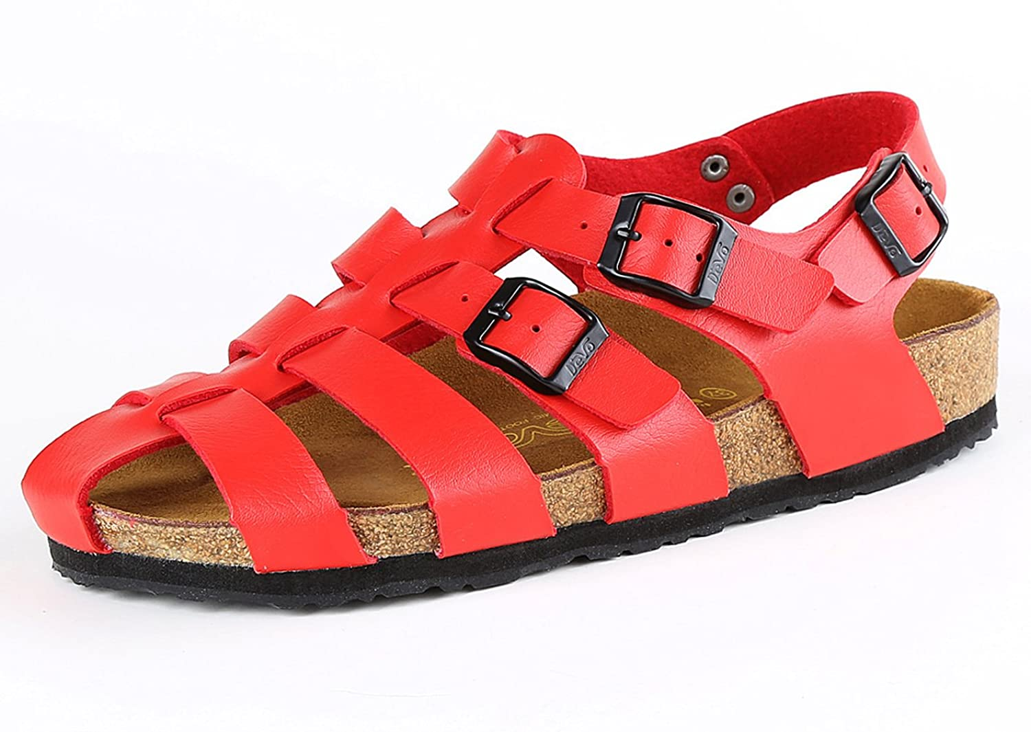 Fashiondiary Women's Summer Seaside Buckle Proper Footwear