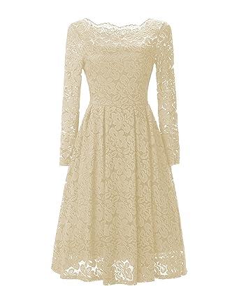 Elegante kleider in beige