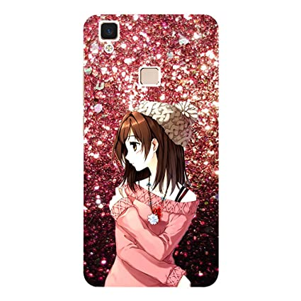 0c383192a Beautiful Girl - Mobile Back Case Cover for Vivo V3 Max: Amazon.in:  Electronics