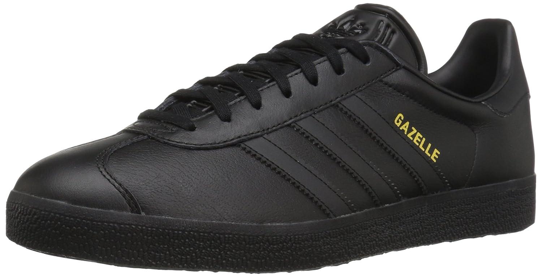 adidas Men's Gazelle Casual Sneakers B01HLJWUPK 7.5 M US|Black/Black/Gold Metallic
