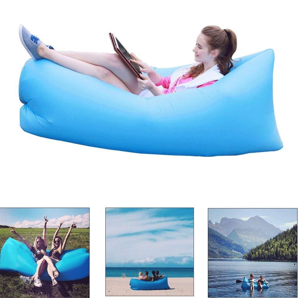 Sofa Hinchable - Yithings tumbona hinchable impermeable con ...