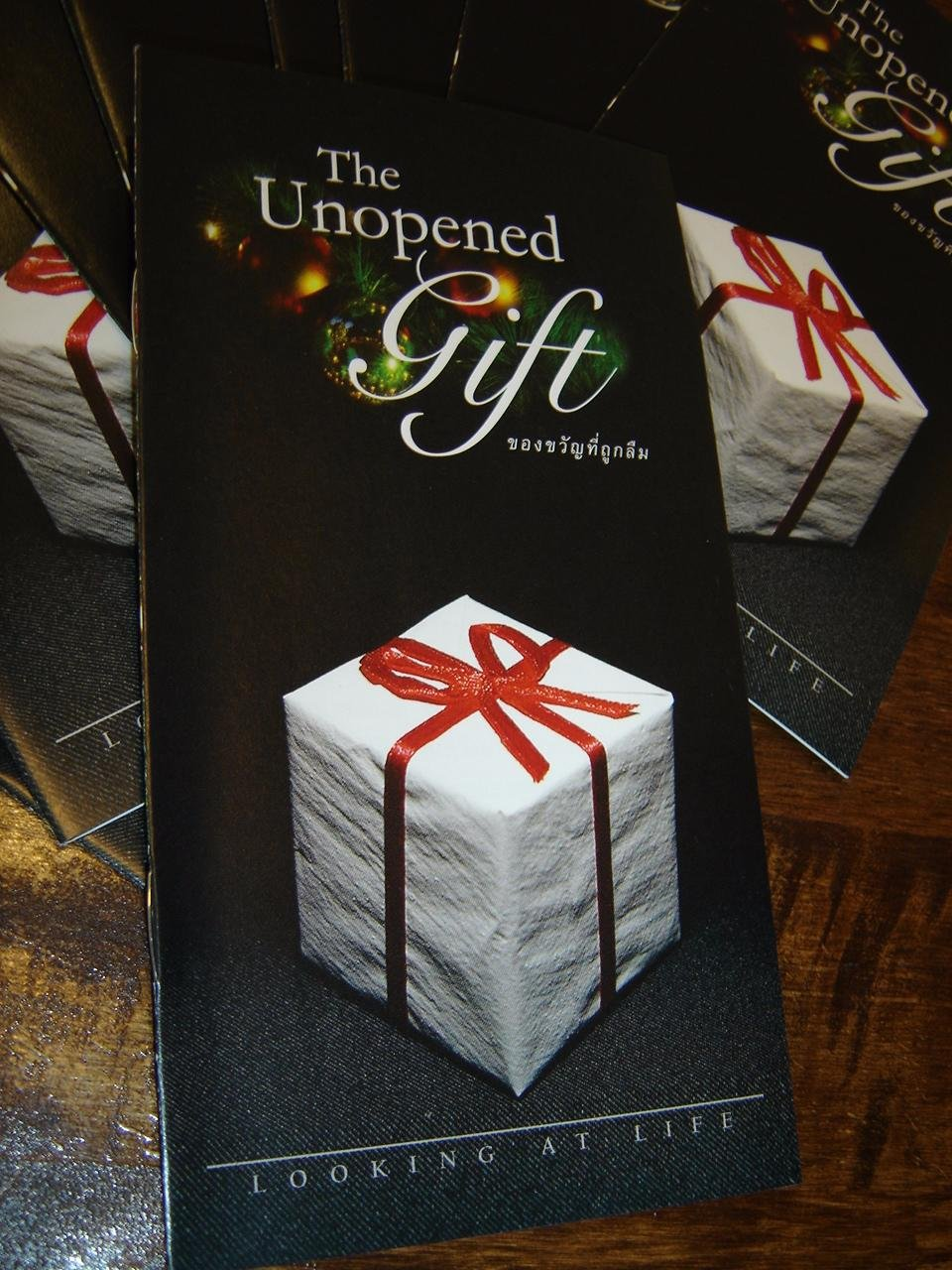 Read Online The Unopened Gift: Looking At Life / Thai Language Evangelism and Outreach Materials ebook