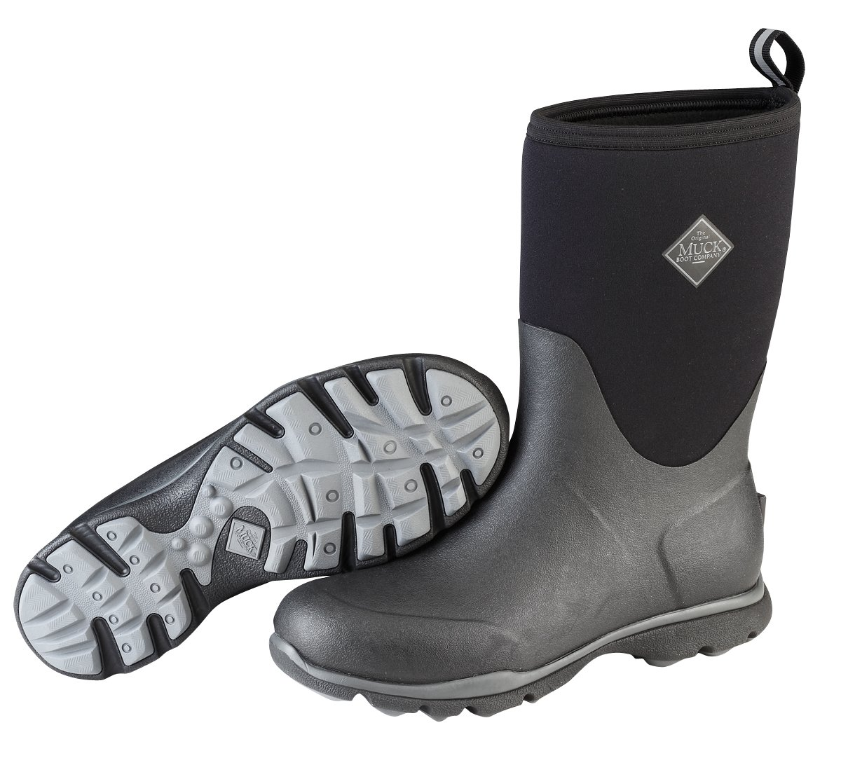Muck Arctic Excursion Mid-Height Rubber Men's Winter Boots by Muck Boot