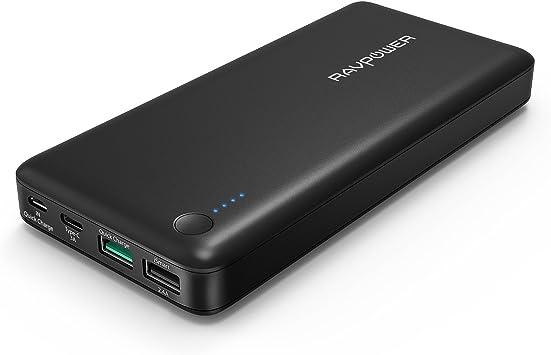 Chargeur portable RAVPower de 20000 mAh (Pack batterie