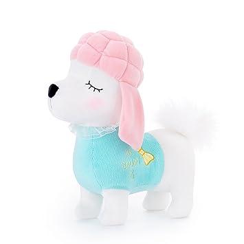 17a01a24c735 Metoo Stofftier Plüsch Hund - Pudel Hund gefüllte Welpen Spielzeug ...