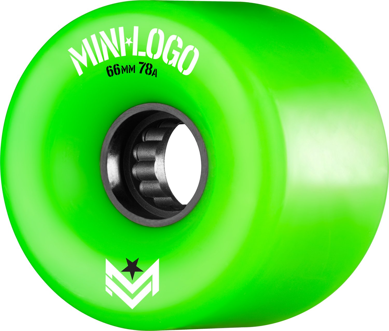 Mini-Skateboards Mini-Logo A.W.O.l. A-Cut 66 x 78A Ruedas de skate verde, 66 mm