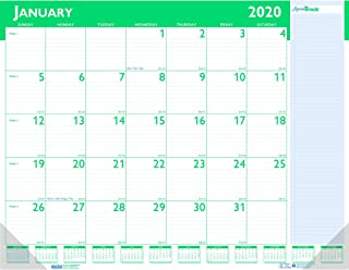 product image for House of Doolittle 2020 Monthly Desk Pad Calendar, Express Track, 22 x 17 Inches, January - January (HOD148-20)