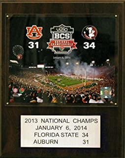 product image for NCAA Florida State Seminoles Football 2011 BCS National Champions Plaque, 12 x 15-Inch