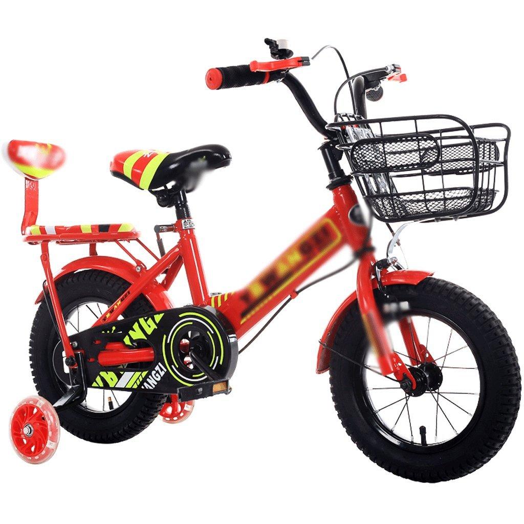 自転車 子供用自転車2-4-6-7-8-9歳の男女の赤ちゃんのキャリッジ (サイズ さいず : 18 inch) B07DPP16XD 18 inch 18 inch