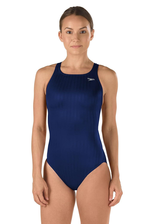 Speedo Women's Girls Fl Aqua Record Breaker Youth Swimsuit 719039-001-18