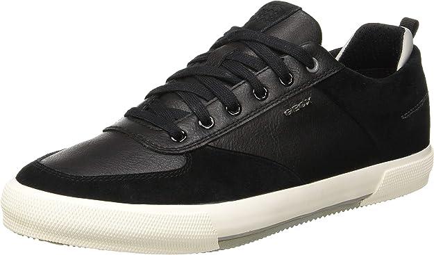 Geox U Kaven A Sneaker Herren Schwarz