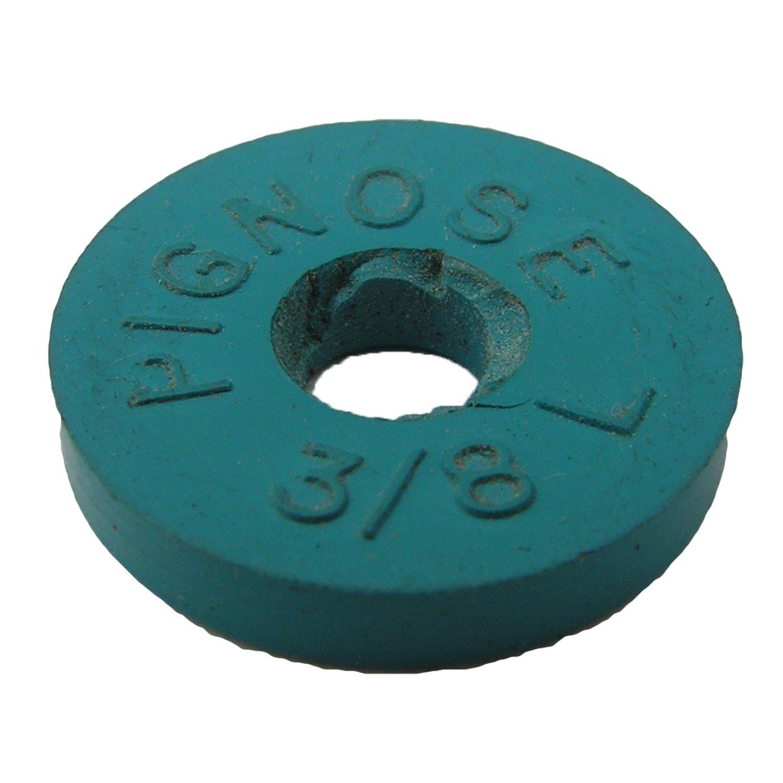 LASCO 02-1175 Soft Flat Faucet Pig Nose Washer, Blue, 2-Pack