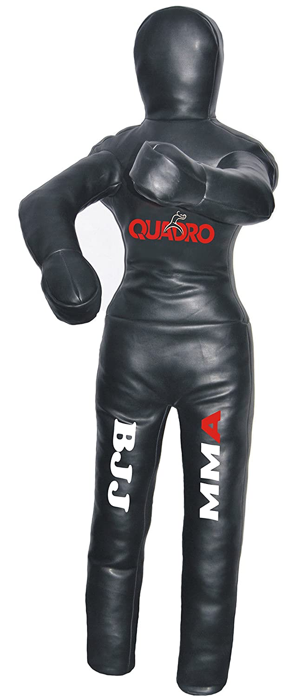 【メーカー包装済】 Quadro Black MMA Martial Arts Quadro GrapplingダミーStanding位置Jiu Jitsu Arts Punching Bag – Unfilled 70 inches (6 ft) Synthetic Leather Black B076VX1RRR, 健康一番!しあわせ家族:2c5107e7 --- senas.4x4.lt
