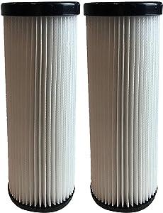 Crucial Vacuum Replacement HEPA Style Vacuum Filter Compatible with Dirt Devil Part # F1,2JC0280000,2JC0360000,3JC0280000 & Models Breeze: M085810,M088150,M088160,M088162,M088175 (2 Pack)