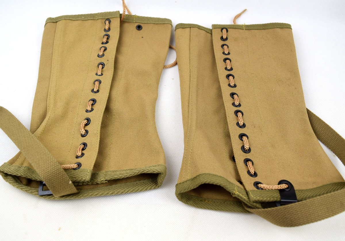 Replica WWII US Canvas Pants Gaiter Leggings Puttee by Chengxiang (Image #4)