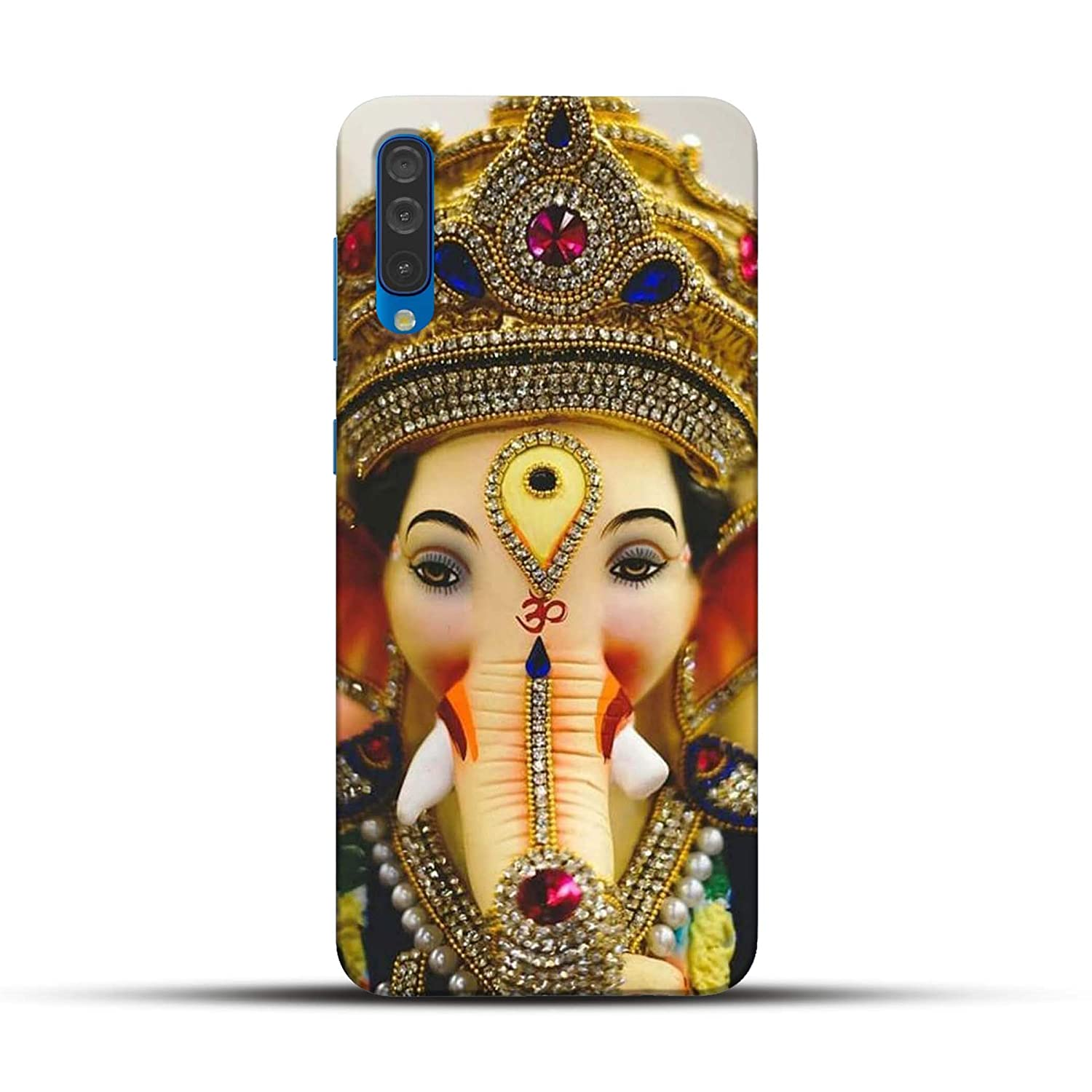 Pikkme God Lord Ganesha Golden Crown Designer Printed Amazon In Electronics