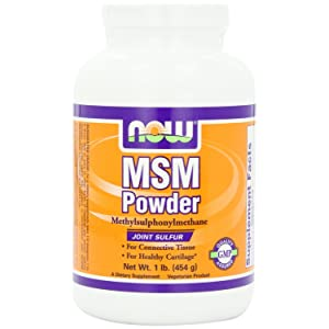 NOW Foods MSM Pure Powder