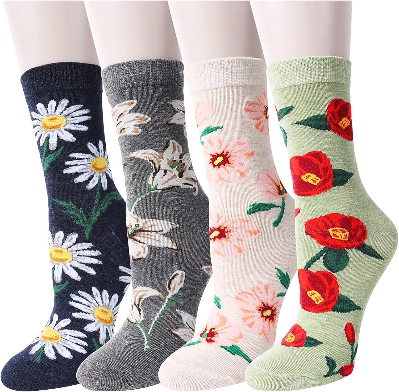 Women/'s Novelty Crew Socks Funny Crazy Cool Socks Humor Ostrich 3 Pack
