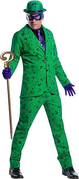 Charades DC Comics Riddler Men's Costume