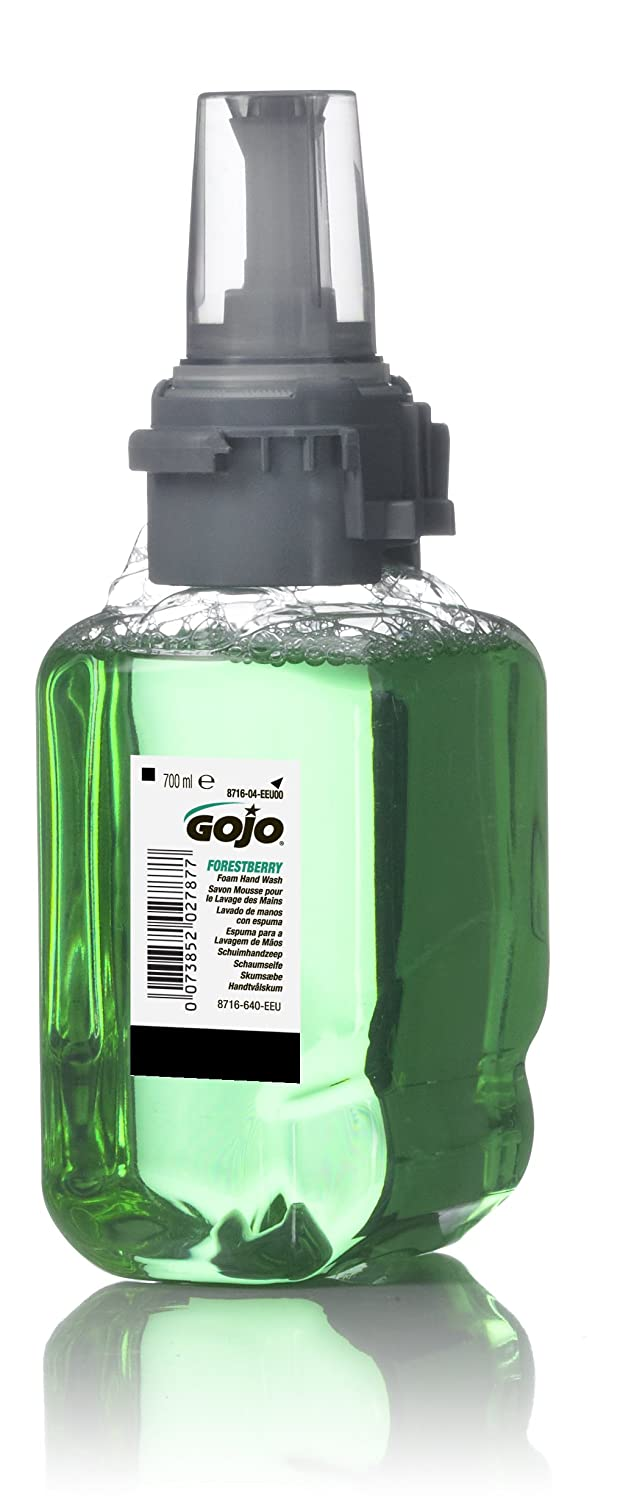 GOJO 8716-04-EEU00 ADX-7 Forestberry Foam Hand Wash, 700 mL Refill (Pack of 4) GOJO Industries Inc.