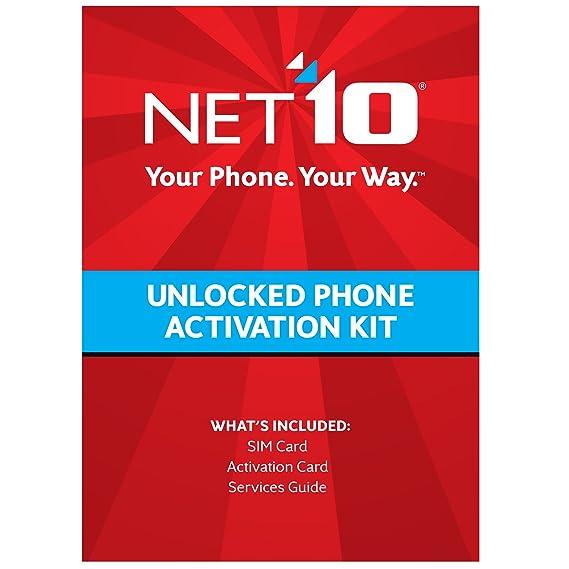 Amazon.com: T-mobile compatible tarjeta SIM (net10)