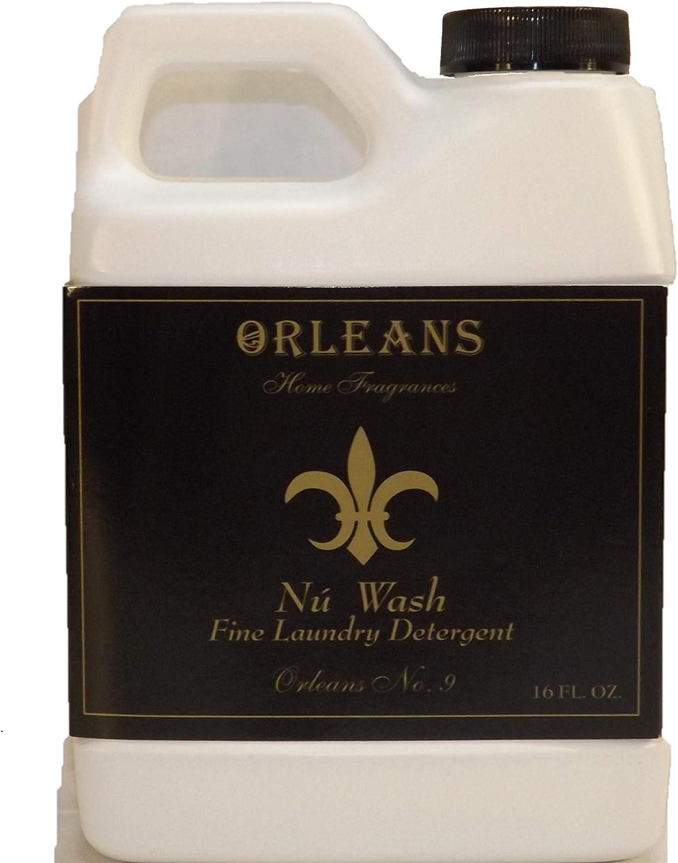 Orleans Home Fragrance Nu Wash Fine Laundry Detergent - Orleans No. 9-16 Fl oz