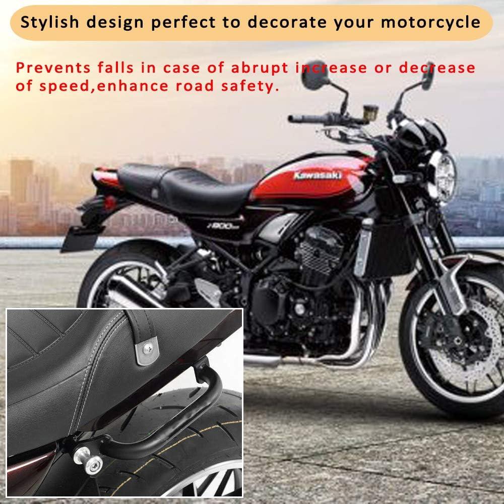 XX ecommerce motocicleta parte trasera Asiento Sozius Pasajeros Estanter/ía estructura mando greifen Bar Carril para 2017-2018 Kawasaki z900rs 17 18
