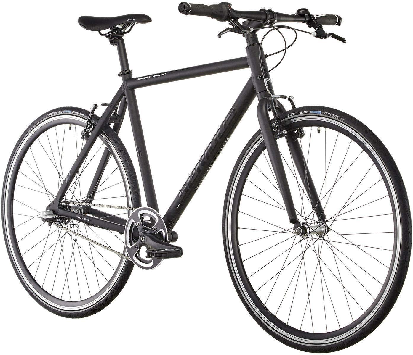 Black 2018 Mens Mountain Bike SERIOUS Townracer MTB
