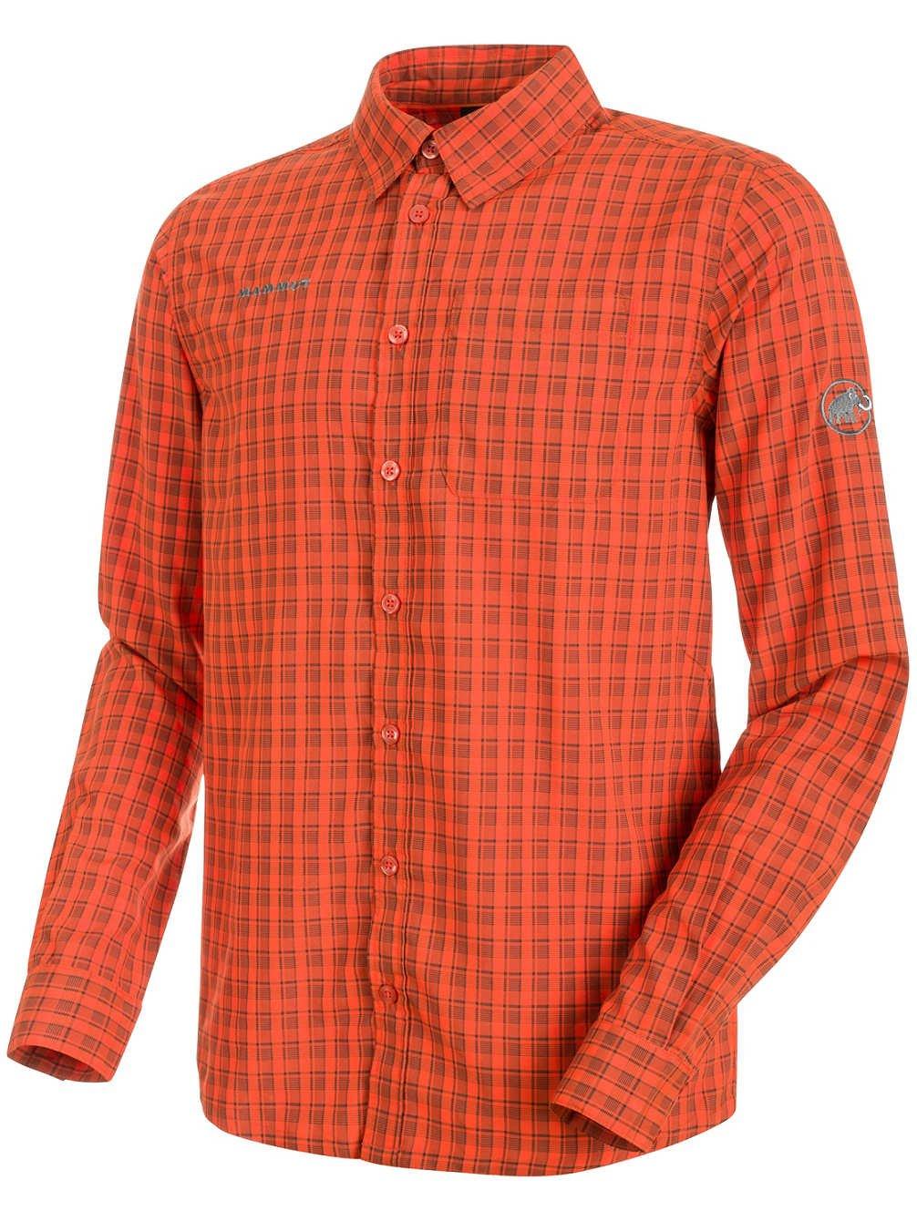 Mammut Herren Langarm-Hemd Lenni T-Shirts