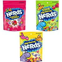 Nerds Variety Pack, Gummy Clusters, Big Chewy, & Sour Big Chewy, Pack of 3
