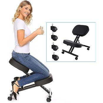 Amazon Com Modrine Ergonomic Kneeling Chair Perfect